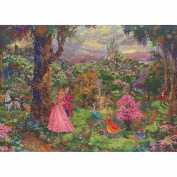 Disney Dreams Collection By Thomas Kinkade Sleeping Beauty-41cm x 30cm 18 Count