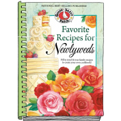 Favourite Recipes For Newlyweds Blank Cookbook-