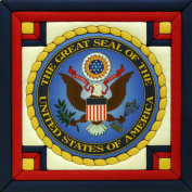 Great Seal Of The United States Quilt Magic Kit-30cm x 30cm