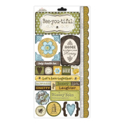 Bumble Cardstock Stickers-Sweet As Honey