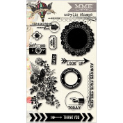 Find Your Wings & Fly Clear Acrylic Stamps-Sky's The Limit