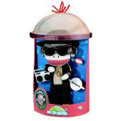 Plush Sock Monkey Doll-M.O.N.K.