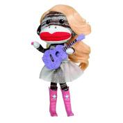 Plush Sock Monkey Doll-Star Harmonkey