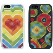 iStyle Canvas Phone Cover Tapestry Kit-Set Of 2