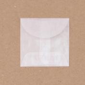Glassine Envelopes 5.1cm x 5.1cm 12/Pkg-