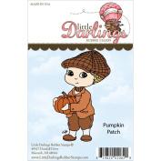 Cutie Pies Unmounted Rubber Stamp-Pumpkin Patch