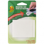 Double Sided Mounting Tabs .13cm X.190cm -White 60/Pkg