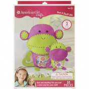 American Girl Sew Stuff Kit-Monkeys