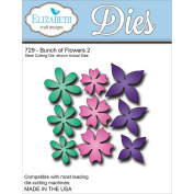 Elizabeth Craft Metal Die-Bunch Of Flowers 2