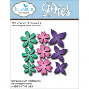 Elizabeth Craft Metal Die-Bunch Of Flowers 2