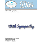 Elizabeth Craft Metal Die-With Sympathy