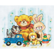 Toys Counted Cross Stitch Kit-28cm - 1.9cm x 24cm 14 Count