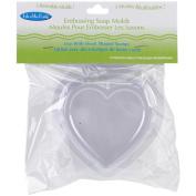 Soap Embossing Mould 3/Pkg-Heart