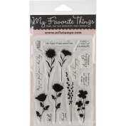 My Favourite Things Lisa Johnson Designs Stamps 10cm x 15cm Sheet-Peaceful Wildflowers