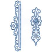 Marianne Design Creatables Dies-Anja's Vintage 2 Ornaments, Up To 9.8cm