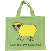 Re-Usable Shopping Bag 30cm x 36cm X7.13cm -Ewe Are My Sunshine