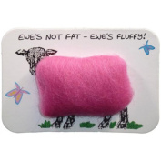 Vanessa Bee Woolly Fridge Magnet-Ewes Not Fat, Ewes Fluffy