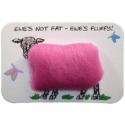 Vanessa Bee Woolly Fridge Magnet-Ewes Not Fat, Ewes Fluffy
