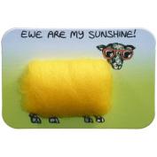 Vanessa Bee Woolly Fridge Magnet-Ewe Are My Sunshine