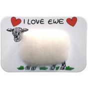 Vanessa Bee Woolly Fridge Magnet-I Love Ewe