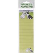 Magnetic Memo Pad 7cm x 21cm -Best Mates