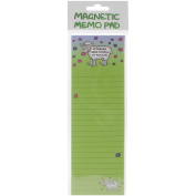 Magnetic Memo Pad 7cm x 21cm -If Friends Were Flowers