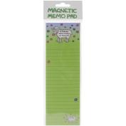 Magnetic Memo Pad 7cm x 21cm -If Friends Were Flowers