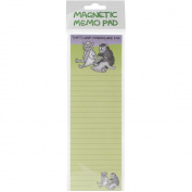 Magnetic Memo Pad 7cm x 21cm -That's What Friends Are For