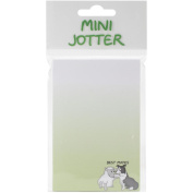 Mini Jotter Note Pad 7cm x 14cm -Best Mates