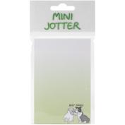 Mini Jotter Note Pad 7cm x 14cm -Best Mates