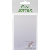 Mini Jotter Note Pad 7cm x 14cm -Never Mind The Weather