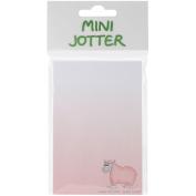 Mini Jotter Note Pad 7cm x 14cm -Ewes Not Fat, Ewes Fluffy