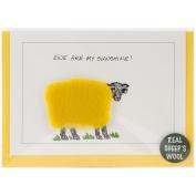 Hand Made Sheep Cards-Ewe Are My Sunshine