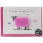 Hand Made Sheep Cards-Ewes Not Fat, Ewes Fluffy