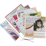 Edgit Piercing & Crochet Books Combo Pack Of 5 Books-