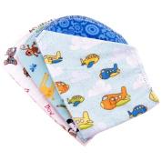 Ammee's Babies Burp Cloth Bundle 3/Pkg-Boys Hemstitched Burps