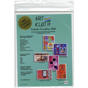 20cm - 1.3cm x 28cm Art Kloth 5/Pkg W/5 Bonus Project Patterns-White