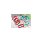 New Year/New You Decorative Paper Clips 10/Pkg-Bubble & @ Sign, 5 Each