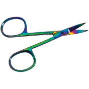 Curved Tip Scissors 7.6cm - 1.3cm -Rainbow