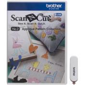 Brother ScanNCut Machine Applique Pattern USB