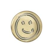 Decorative Seal Coin .190cm -Smiley Face