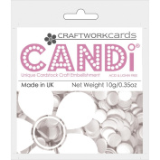 Candi Dot Colour Pop Embellishments .1040ml-Meringue