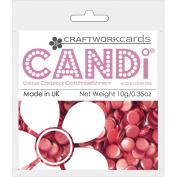 Candi Dot Colour Pop Embellishments .1040ml-Red Velvet