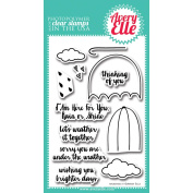 Avery Elle Clear Stamp Set 10cm x 15cm -Weather It