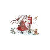 Wild Rose Studio Ltd. Clear Stamp 8.9cm x 7.6cm Sheet-Posting Letters