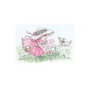 Wild Rose Studio Ltd. Clear Stamp 8.9cm x 7.6cm Sheet-Annabelle W/Lambs