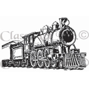Class Act Cling Mounted Rubber Stamp, 7cm x 9.5cm , Train 2