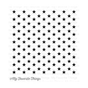 My Favourite Things Background Cling Rubber Stamp 15cm x 15cm -Star