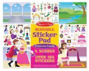 Reusable Sticker Pad-Princess Castle 165 Reusable Stickers