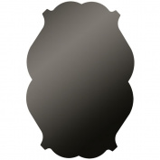 Vintage Black Chalkboard, 41cm x 60cm